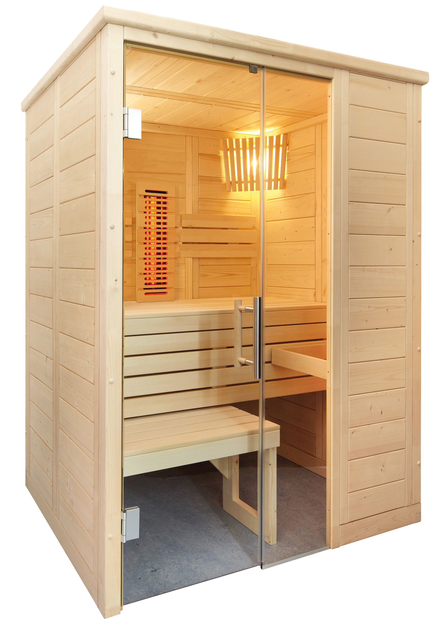 sentiotec produkte sentiotec sauna sauna kabinen alaska. Black Bedroom Furniture Sets. Home Design Ideas