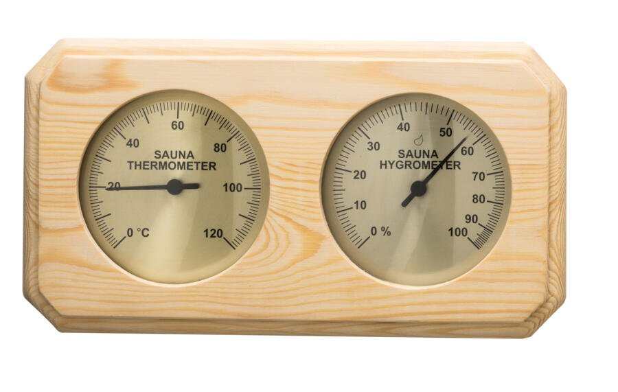 sentiotec products sentiotec sauna accessories thermometer hygrometer thermo hygrometer. Black Bedroom Furniture Sets. Home Design Ideas