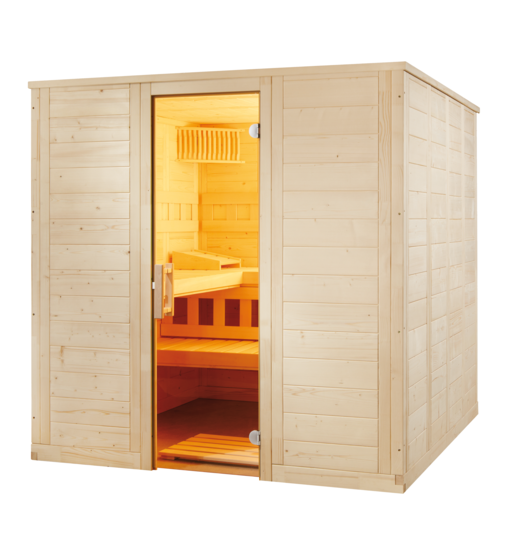 sentiotec produkte sentiotec sauna sauna kabinen wellfun. Black Bedroom Furniture Sets. Home Design Ideas